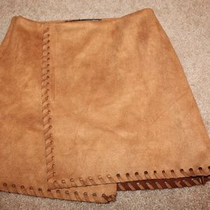 URBAN OUTFITTERS SUEDE SKIRT
